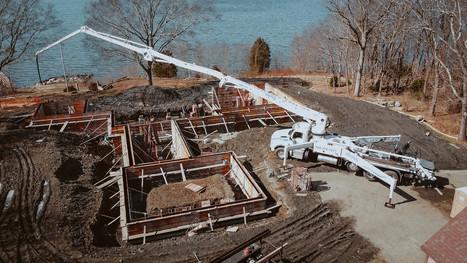 Residential Construction on Nanaquaket Tiverton Rhode Island