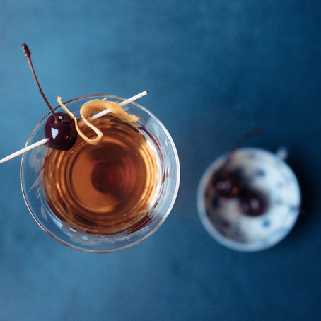 Mad Over Our Manhattans