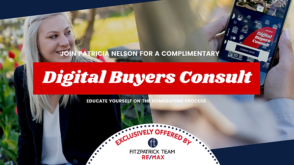 Patricia Nelson - DBC Online Event Flyer