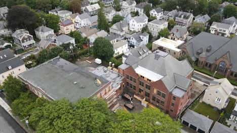 Cranston Calvert Renovation in Newport Rhode Island