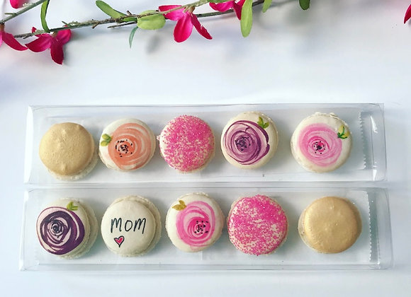 Mother's Day Mac Pack                       (2 sets of 5 macarons)