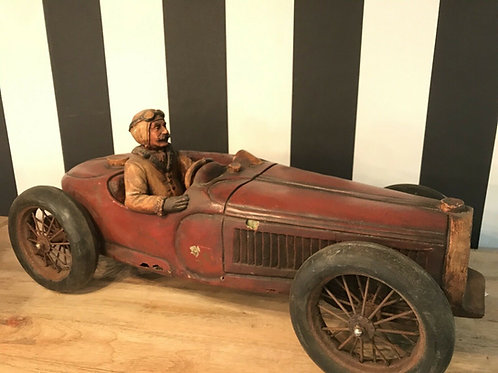 Bugatti Modellauto, 50- Jahre, Epoxidharz oder Bakelite