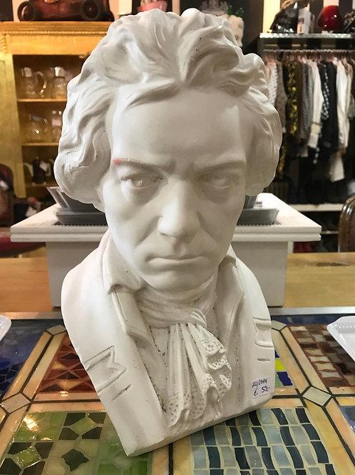 Gips Büste /  Ludwig van Beethoven
