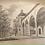 Thumbnail: Original Radierung - Stuttgart Kunstgebäude und Königin Olga Bau