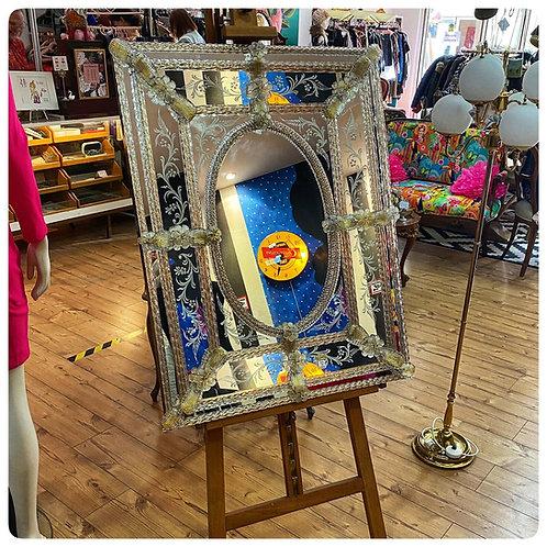 Original Murano Spiegel , 50iger Jahre, aufwendig gearbeitet