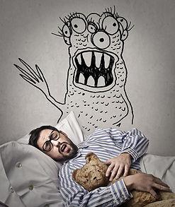 Difficultés sommeil cauchemards hypnose