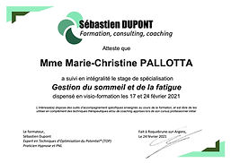 Pallotta attestation formation sommeil et fatigue hypnose.jpg