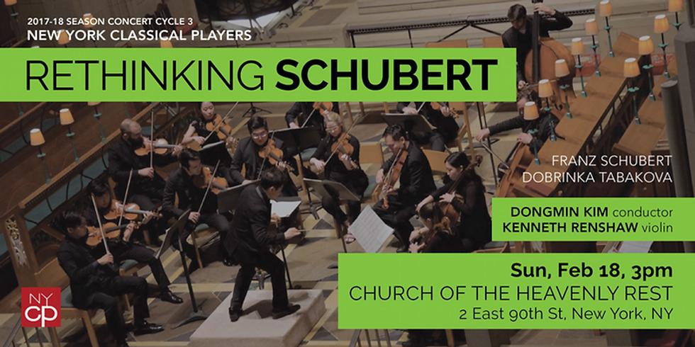Rethinking Schubert 2/18