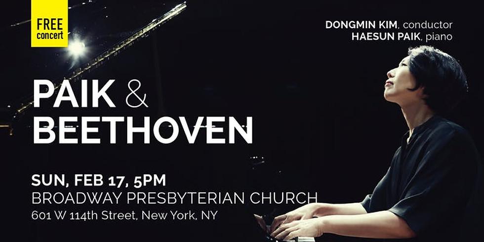 NYCP: Paik & Beethoven (Feb 17) - NYC