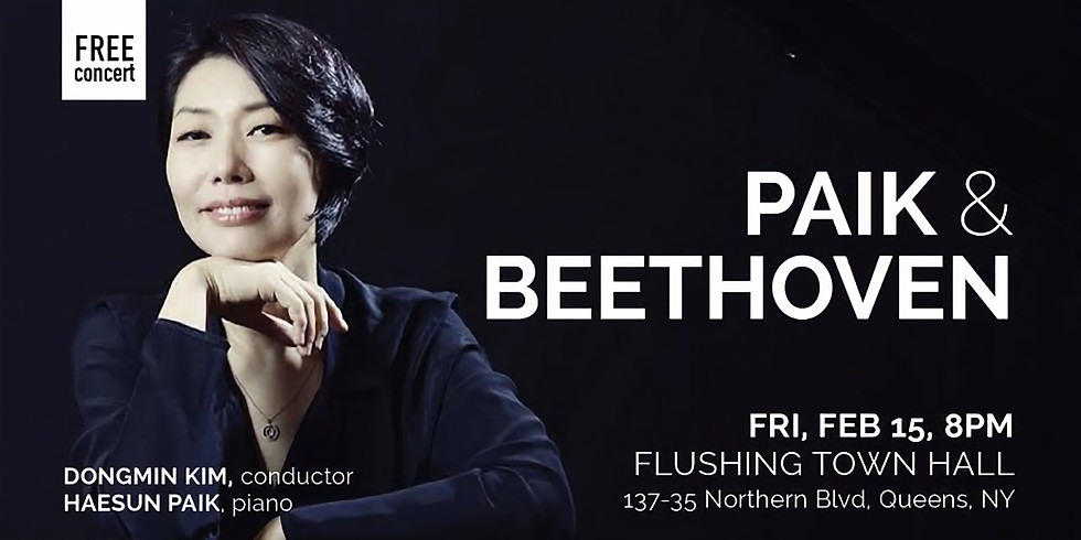 NYCP: Paik & Beethoven (Feb 15) - Queens