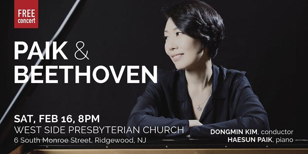 NYCP: Paik & Beethoven (Feb 16) - NJ