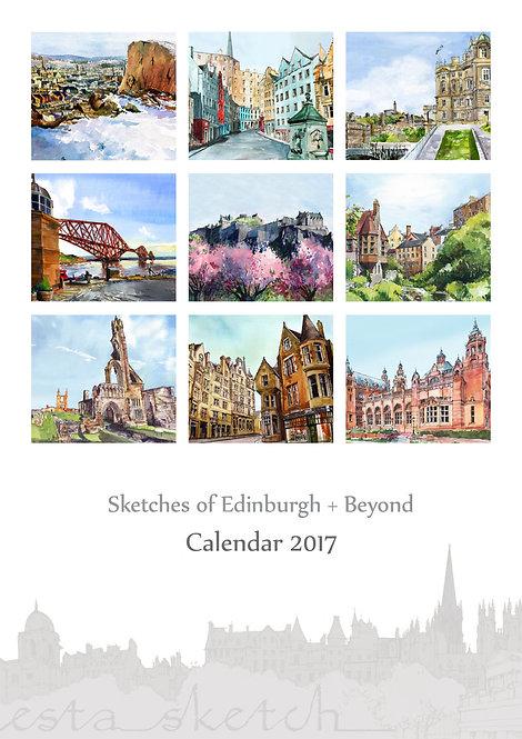 2017 Calendar Edinburgh + Beyond