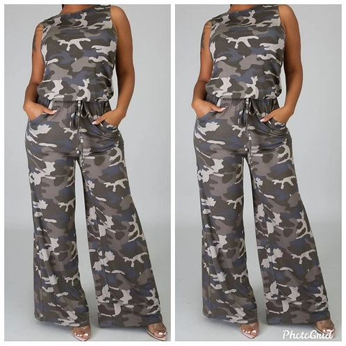 Camo Girl Jumpsuit