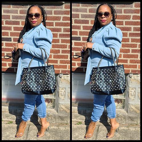 So Studded Chic Handbag