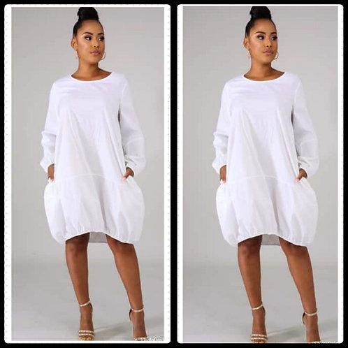 White Bubble Dress
