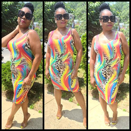 Jungle Love Tank Dress
