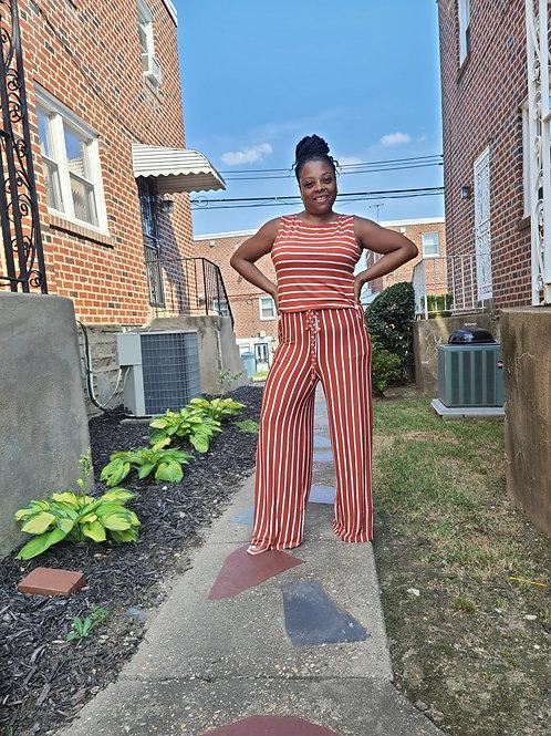 Candy Stripes Jumpsuit