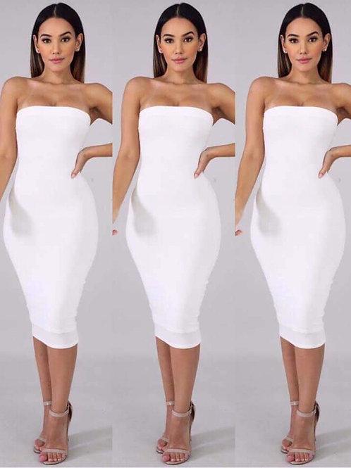 Snow White Tube Dress
