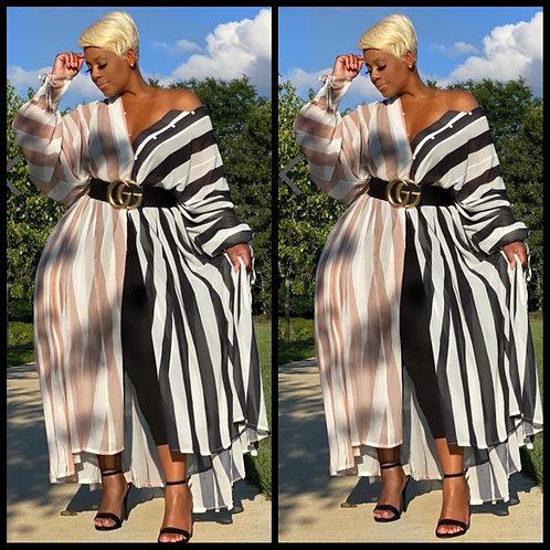 Tiffani Maxi Dress/Duster/Cover Up