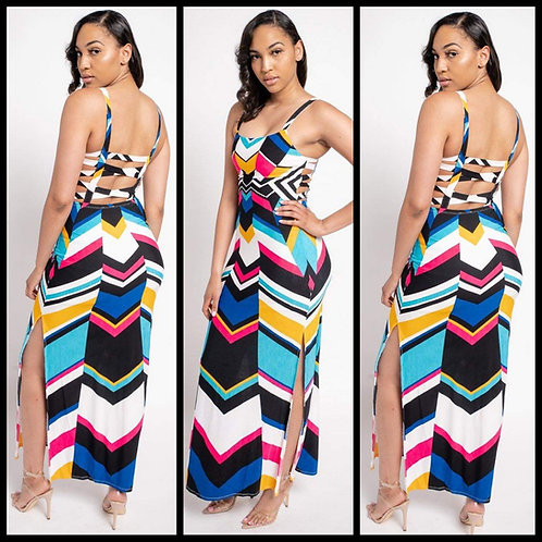Color Abstract Dress