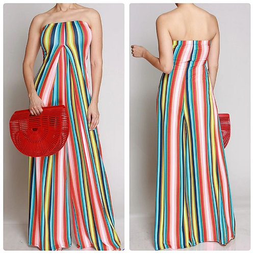 Stripes of Love Jumpsuit
