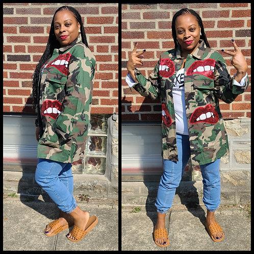Love & War Camo Jacket