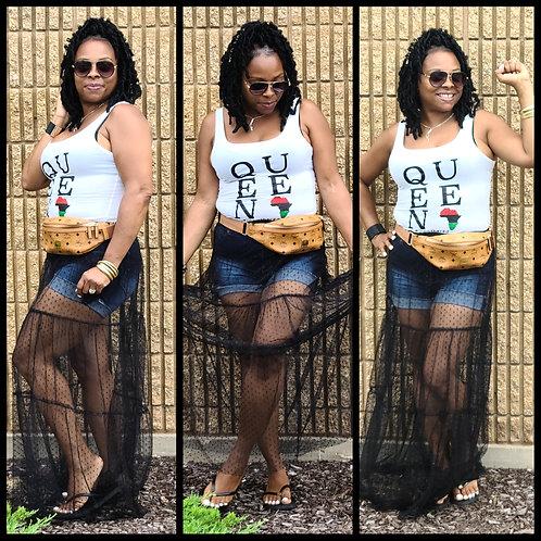 Goddess Mesh Skirt