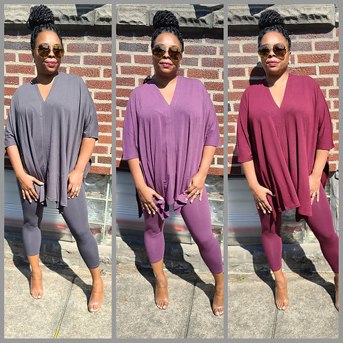 Saturday Vibes Tunic & Legging Set