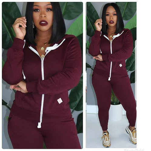 """Track Me Down"" Sweatsuit"