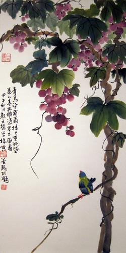 顏文慧 - 大雨過後 ~ 青鳥葡萄