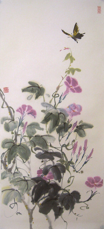 Morning Glory in the Late Summer 聽夏