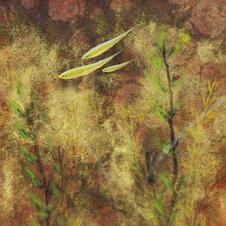 浮翠流丹(一) 黃家偉 2020 15 x 45 cm