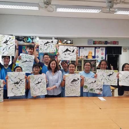 2019 Jun - Art Workshop for Students