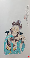 Dunhuang painting 3 伎樂 #KL215