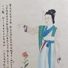 天人像 Mr. WONG Kam Luen  2017  38 x 66 cm