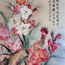 Solution Ms. NG Man Yi 2019  74 x 142 cm