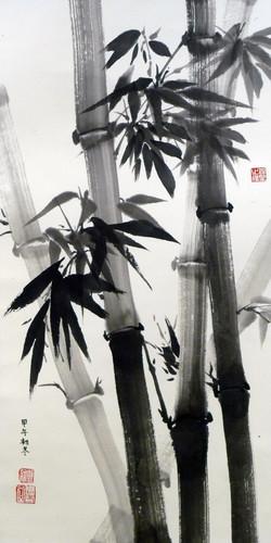 顏文慧 - 大雨過後 ~ 竹林