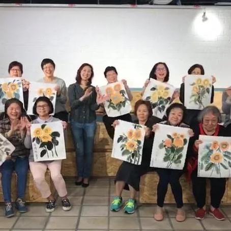 2018 Mar - Art workshop for the Elderlies