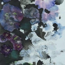 Misty Flower I Ms. Alice NGAN  2020  34 x 137 cm