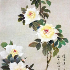 Misty Fragrance Ms. NG Man Yi 2014 40 x 100 cm