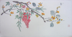 Wintersweet and Heavenly Bamboo