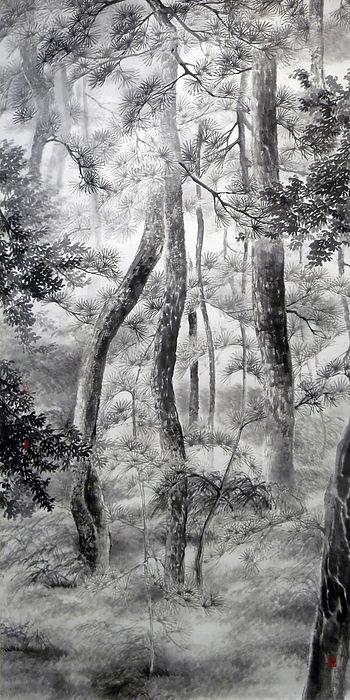 Pine trees - Pau Mo Ching