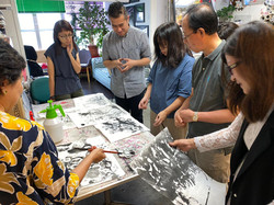 Contemporary Ink Art Workshop 1