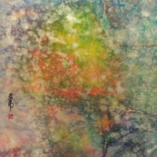 浮翠   黃家偉 2020 66 x 66 cm