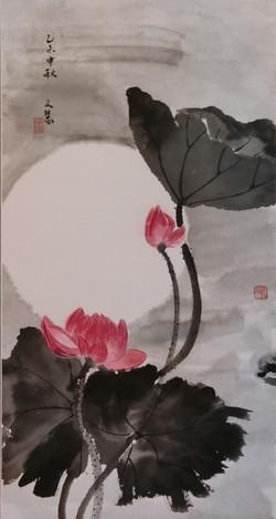 顏文慧 - 荷花(IV)