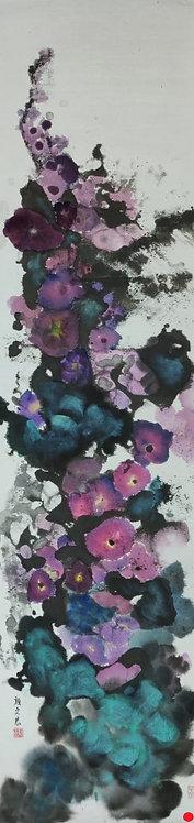 Flowers in the Mist 霧中花 (II) #AN175