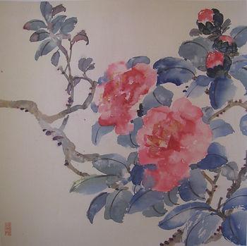Red Camellia - Teacher, Pau Mo Ching,