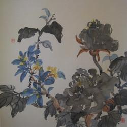 鮑慕貞 - 黑牡丹桂花
