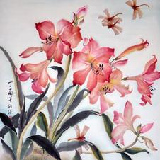 Dance in the Garden Ms. NG Man Yi 2018 70 x 92 cm