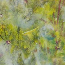怡然自樂(一) 黃家偉 2020 15 x 45 cm
